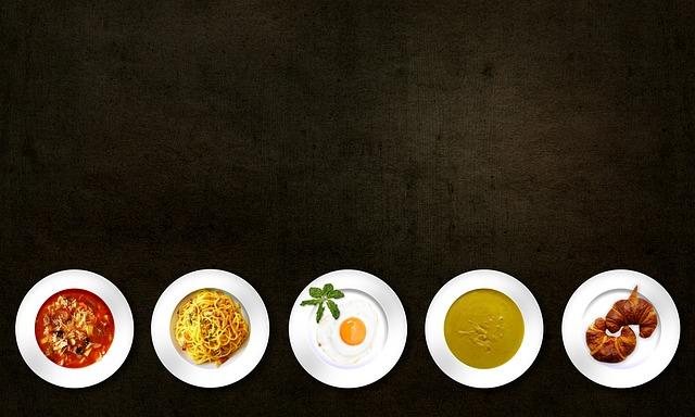 pět pokrmů