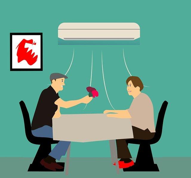 klimatizace ilustrace